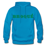 Broque Heavy Blend Adult Hoodie - turquoise