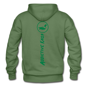 Broque Heavy Blend Adult Hoodie - military green