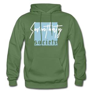 730 Adult Hoodie - military green