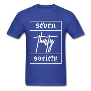 730 Logo T-Shirt - royal blue