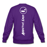 Competition Crewneck Sweatshirt - purple