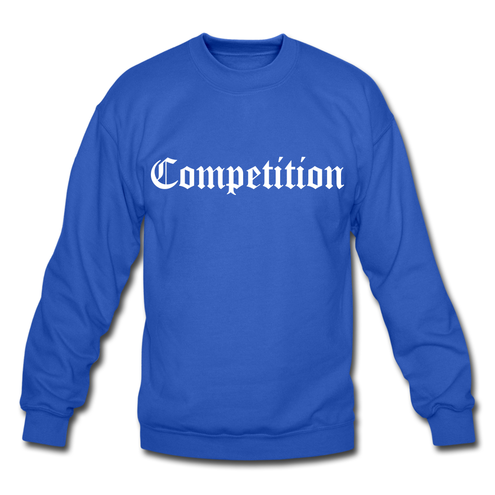 Competition Crewneck Sweatshirt - royal blue