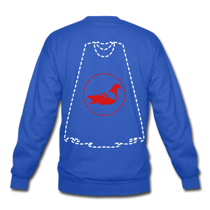 Invisible Villains Crewneck Sweatshirt - royal blue