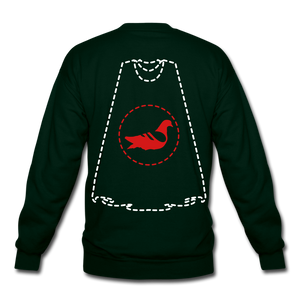 Invisible Villains Crewneck Sweatshirt - forest green