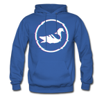 AK Glitch Men's Hoodie - royal blue