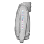 AK Glitch Men's Hoodie - heather gray