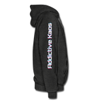 AK Glitch Men's Hoodie - charcoal gray