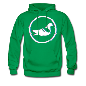 AK Glitch Men's Hoodie - kelly green