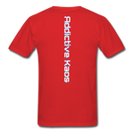 AK Glitch Classic T-Shirt - red