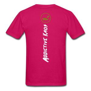 America Don't Cotton Adult T-Shirt - fuchsia