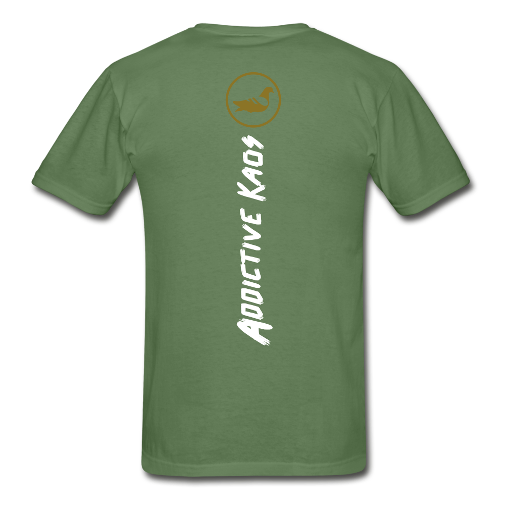 America Don't Cotton Adult T-Shirt - military green