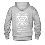 Seven Heads Hoodie - heather gray