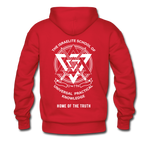 Seven Heads Hoodie - red