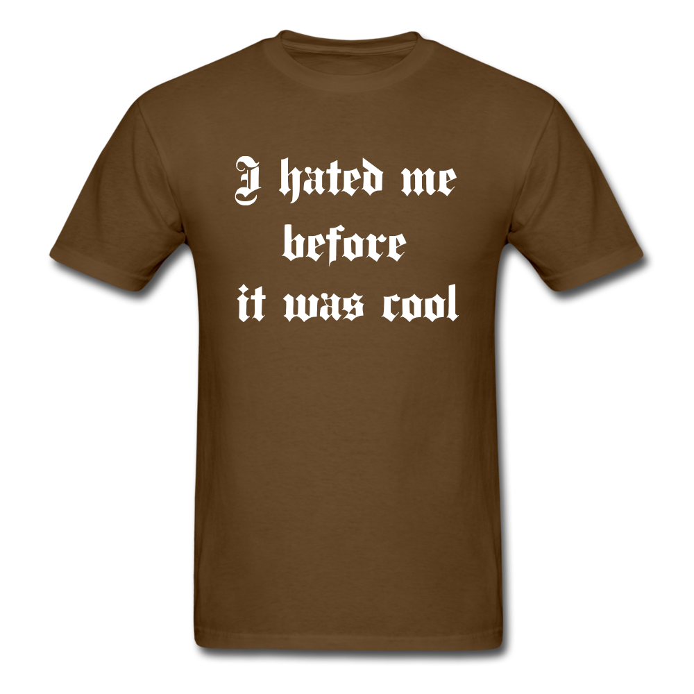 Hate Me Classic T-Shirt - brown