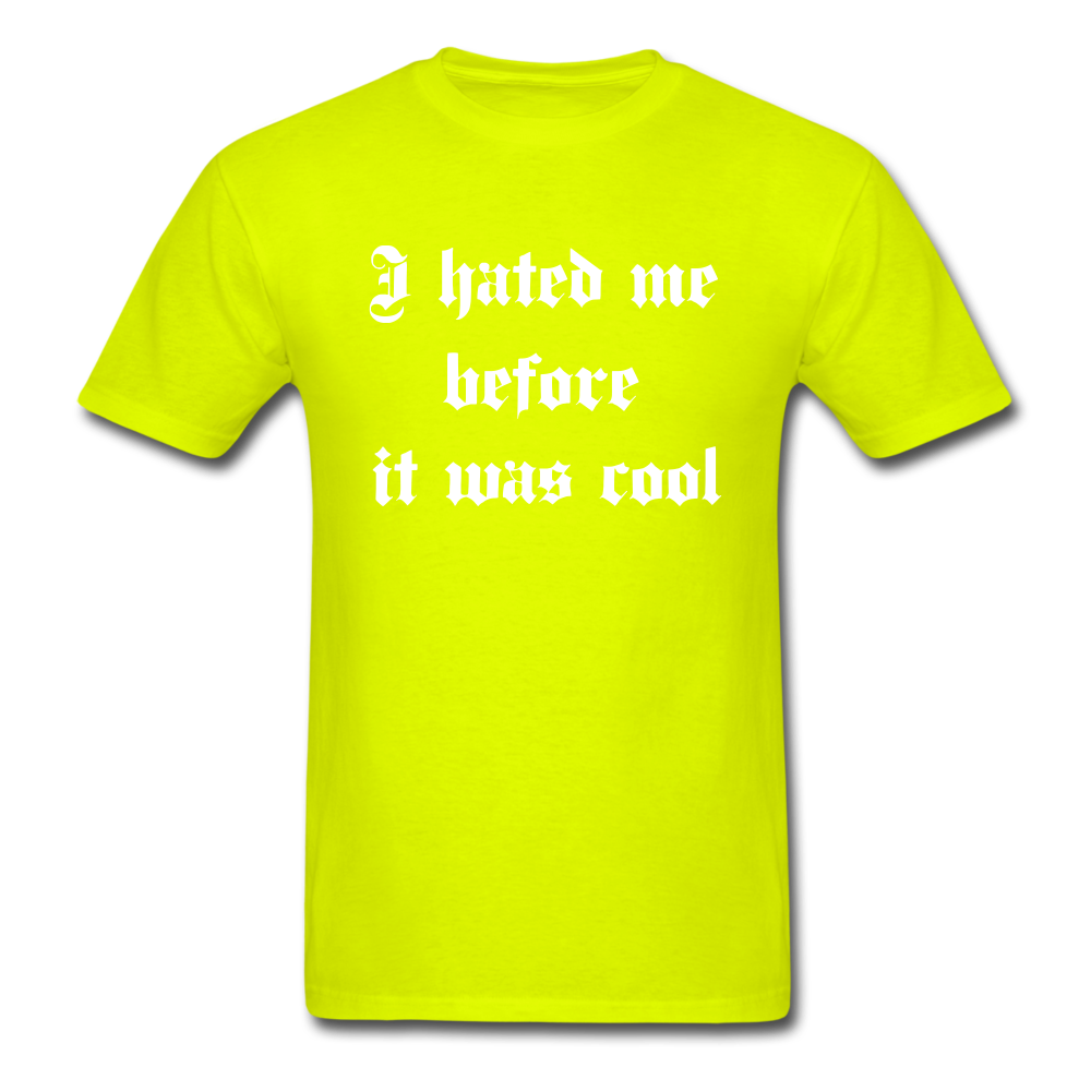 Hate Me Classic T-Shirt - safety green