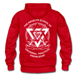 Raising Priests Heavy Blend Adult Hoodie - red