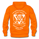 Raising Priests Heavy Blend Adult Hoodie - orange