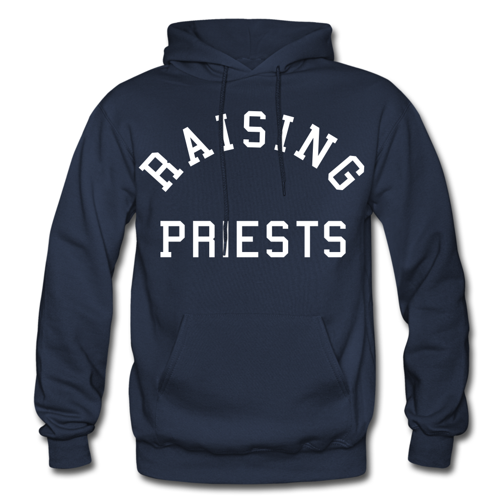 Raising Priests Heavy Blend Adult Hoodie - navy