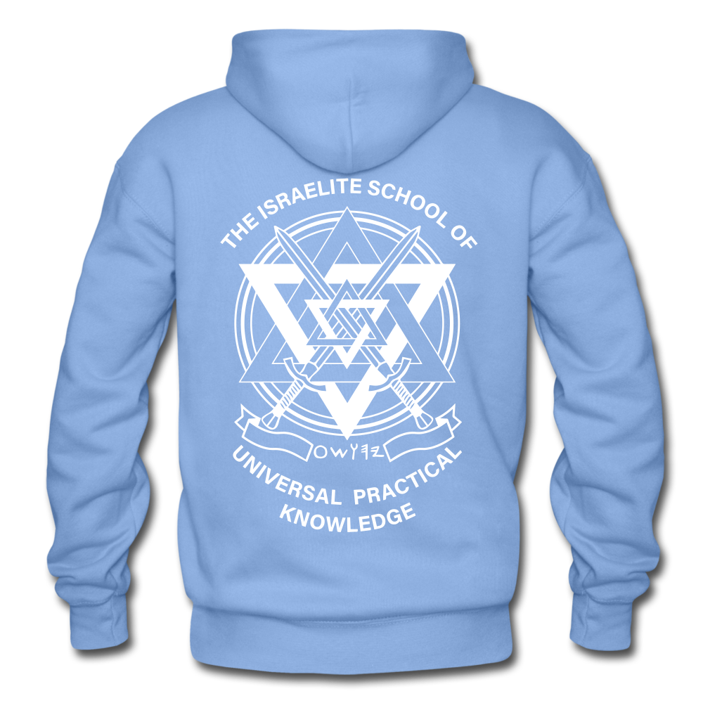 Raising Priests Heavy Blend Adult Hoodie - carolina blue