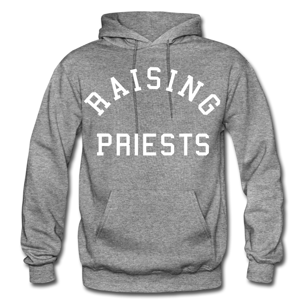 Raising Priests Heavy Blend Adult Hoodie - graphite heather