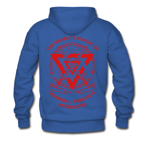 Hold The Torch Hoodie - royal blue