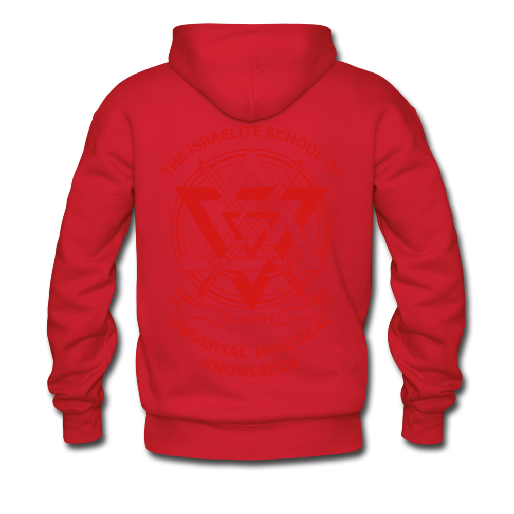 Hold The Torch Hoodie - red