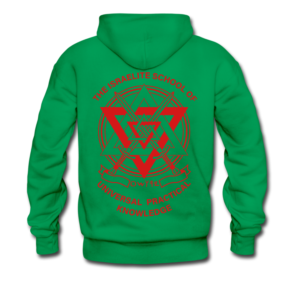 Hold The Torch Hoodie - kelly green