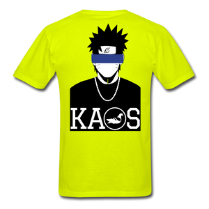 Anime Naruto Classic T-Shirt - safety green