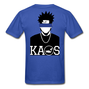 Anime Naruto T-Shirt - royal blue