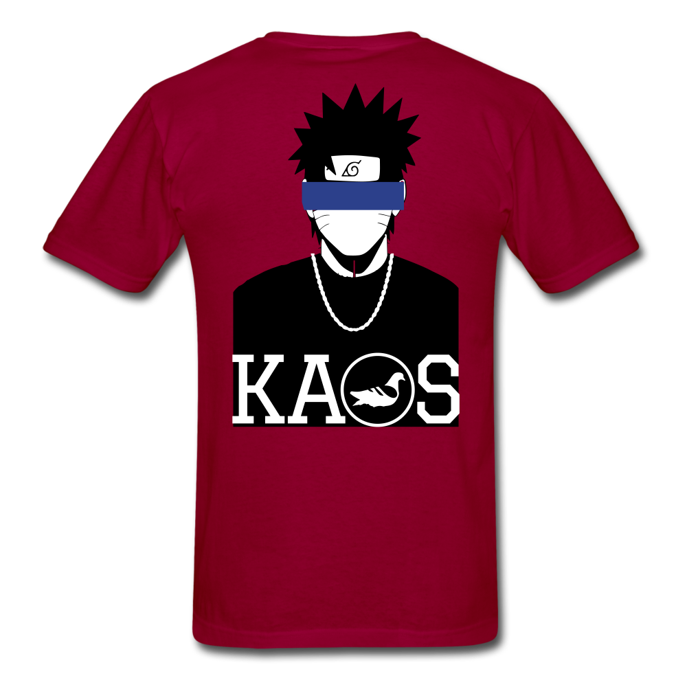 Anime Naruto T-Shirt - dark red