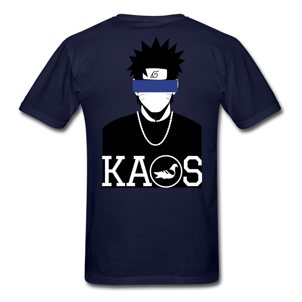 Anime Naruto T-Shirt - navy