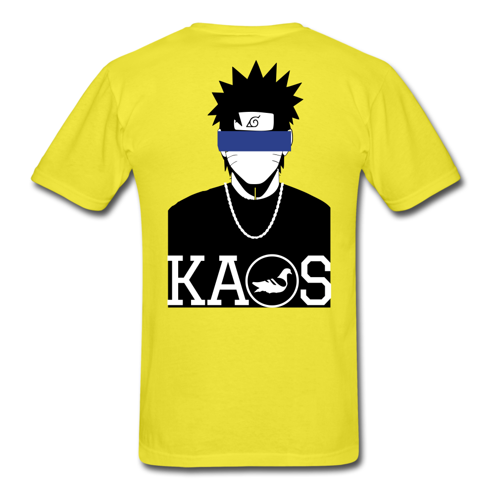 Anime Naruto T-Shirt - yellow
