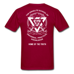 Seven Heads Classic T-Shirt - dark red