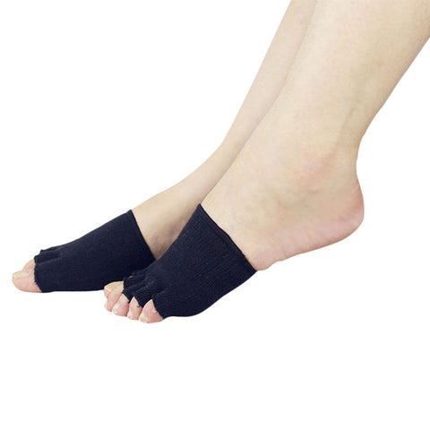 Image of Women's Toe Separating Compression Socks