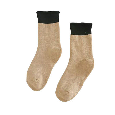 Women Cozy Foot Crochet Compression Socks