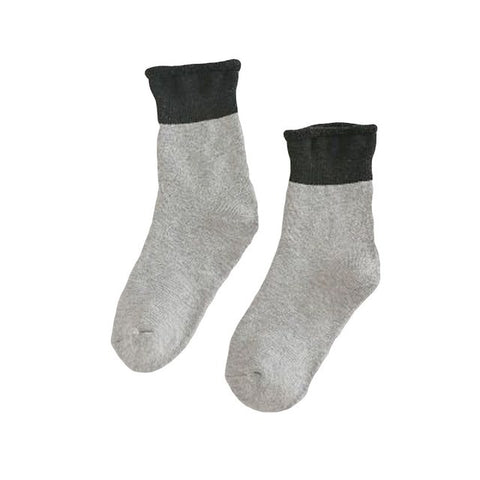 Image of Women Cozy Foot Crochet Compression Socks
