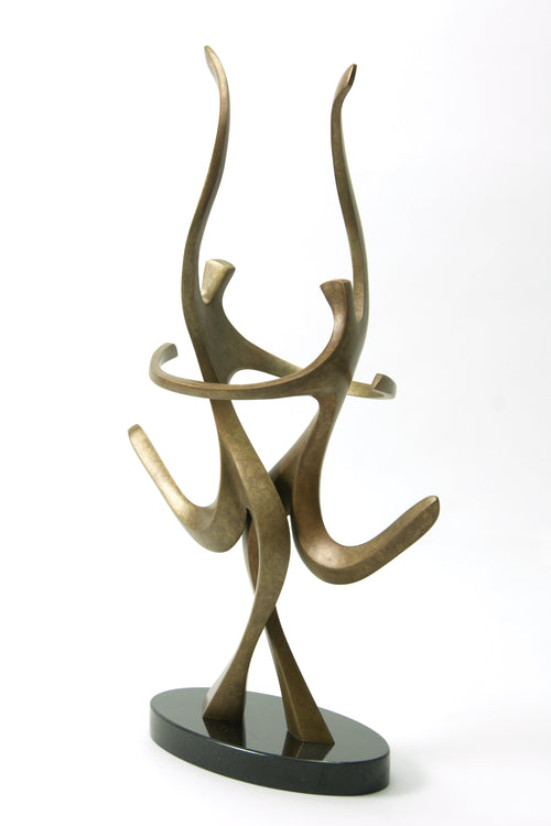 Skaters Bronze Sculpture