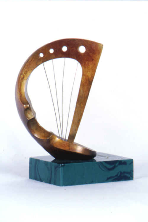 Sound of Strings Bronze Sculpture