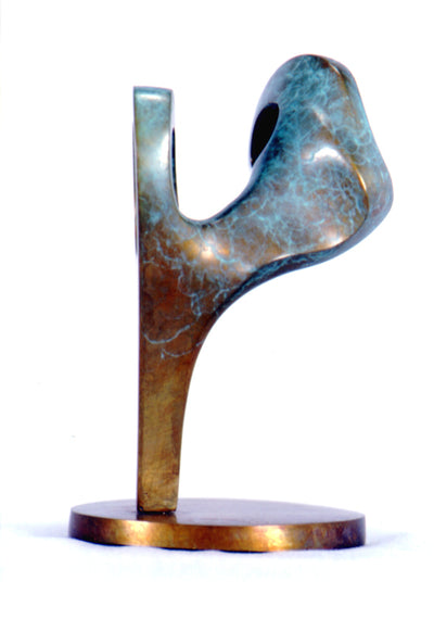 Tree Figure Bronze Sculpture