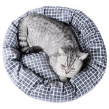 High Quality Pet Dog Cat Bed Cottony Fabric Pastel Green (Large)