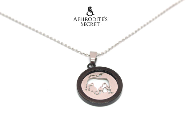 Aphrodite's Secret High Quality Stainless Steel Bull Design Pendant + Necklace