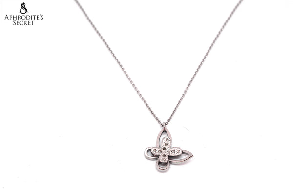 Aphrodite's Secret High Quality Stainless  Steel Necklace Butterfly Design