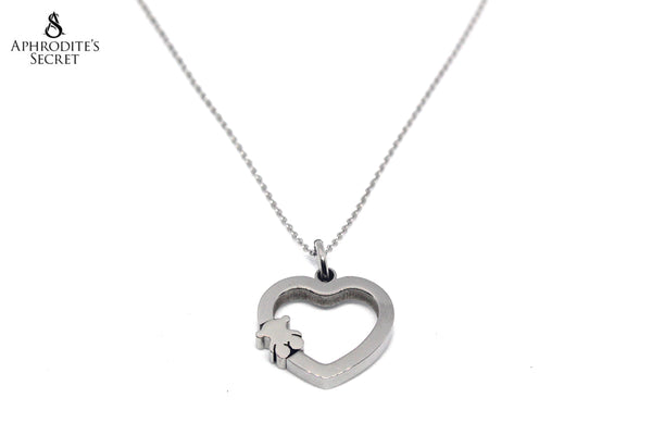 High Quality Stainless Steel Necklace Heart Tous inspired design