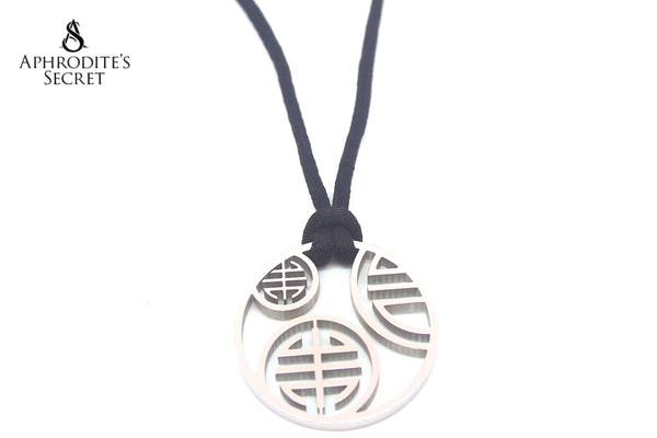 High Quality Stainless Steel Necklace Adjustable Medallion design