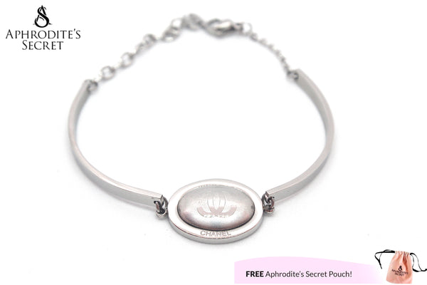 High Quality Stainless Steel Bracelet Bangle Chanel inspired design