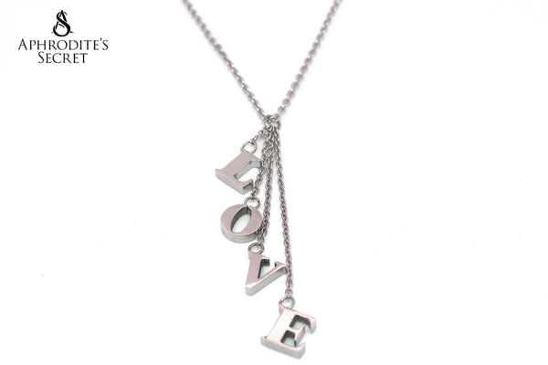 Aphrodite's Secret High Quality Stainless Steel Necklace Love Design