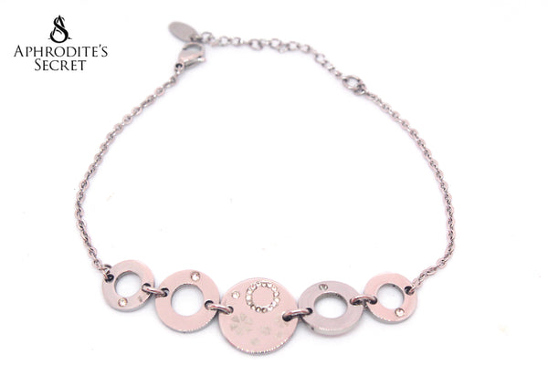Aphrodite's Secret High Quality Stainless Steel Bracelet Small Spherical Design