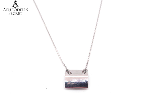 Aphrodite's Secret High Quality Stainless Steel Necklace Roof Design