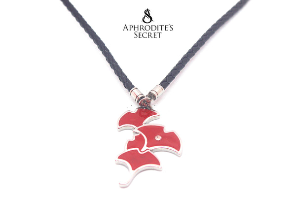 Aphrodite's Secret High Quality Leather Necklace Retro Big Pendant Design