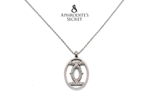 Aphrodite's Secret High Quality Stainless Steel Eye Design Pendant + Necklace